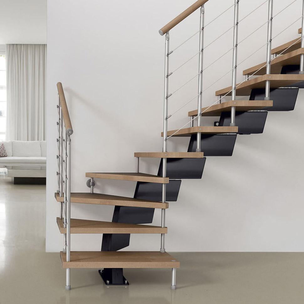 Alimonti piu 39 vendita scala conica a doppia salita in for Arredare scale interne